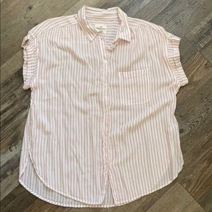 American Eagle Outfitters striped blouse